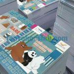 Giới thiệu về xưởng sản xuất tập học sinh Nhật Đông